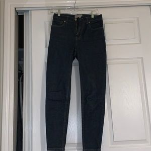 High Rise Everlane Skinny Jeans dark blue!